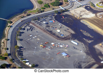 Aerial View of San Francisco Candlestick Park