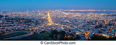 San Francisco Cityscape at Night