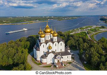 Assumption Cathedral in Yaroslavl