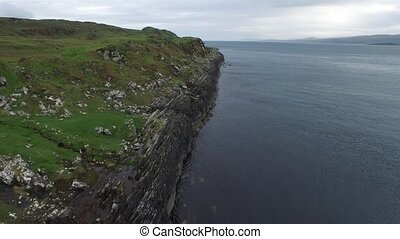 Aerial view of the coast between Ardfern and Craignish...