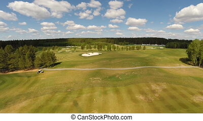 Aerial view of the Golf course