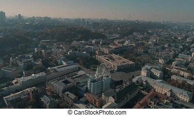 aerial view of the Kiev