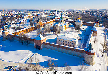 Kremlin and St. Nicholas Cathedral at Zaraysk