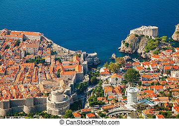 Dubrovnik Old town and Fort Lovrijenac