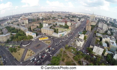Presnensky district - Aerial view of the Presnensky district...