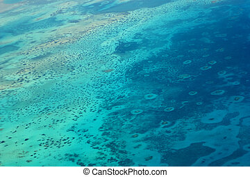 Aerial view of the Red Sea