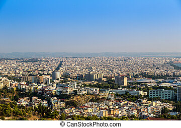 Aerial view of Thessaloniki
