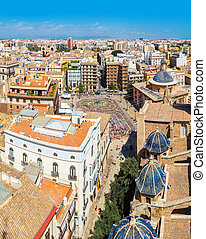 Aerial view of Valencia