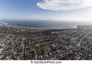 Aerial View of Ventura California