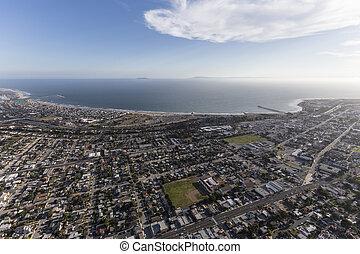 Aerial View of Ventura California