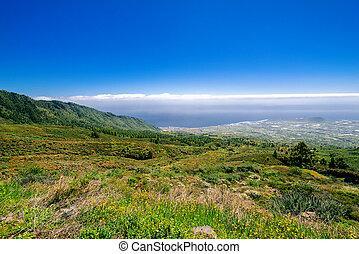 view on coast of Tenerife Island