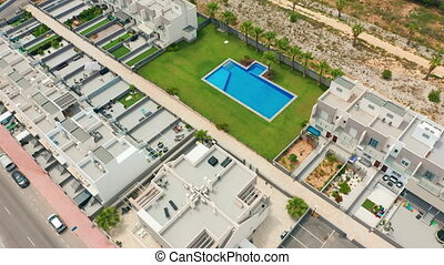 Aerial view. property in Spain. - Aerial view. property in...