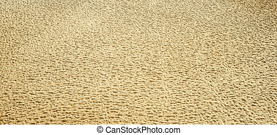 aerial view to sand. good as texture or background