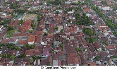 aerial view Yogyakarta, Indonesia - aerial view yogyakarta...