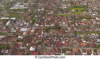 aerial view Yogyakarta, Indonesia - cityscape Yogyakarta...