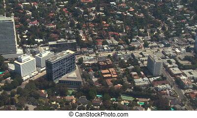 Aerial, West Hollywood, California