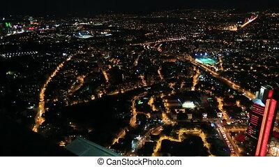 aerial wiev istanbul