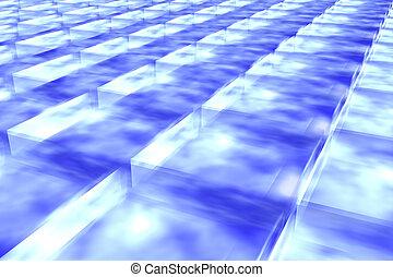 Frozen air cube