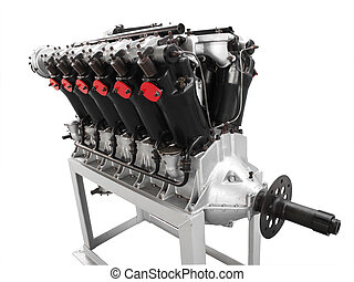 aero, v12, エンジン, 自由