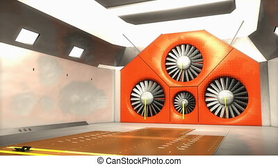 """Aeroacoustics, wind tunnel"""