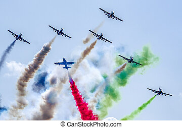 Aerobatic display team Al Fursan