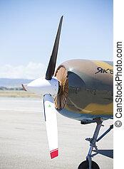 aerobatic, patrouille, mai, -, grenade, espagnol, 18:, hélicoptère, (asp