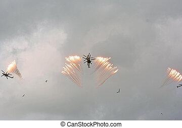 Aerobatic team Berkut