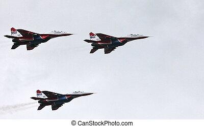 Aerobatic team 'Swifts'