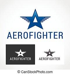 Aerobatics Logo Symbol.