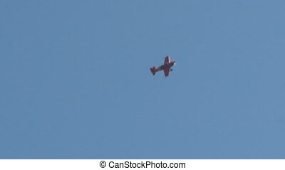 aerobatics - ROME, ITALY - 28 June, 2014: The aerial...