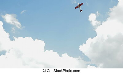 Aerobatics. Handheld, HD1080 - 25p