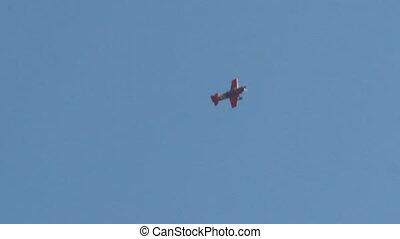 aerobatics - ROME, ITALY - 28 June, 2014: The aerial...