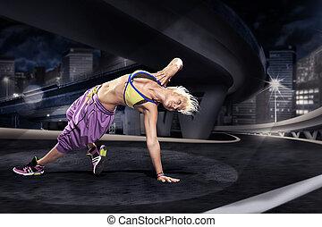 aerobics girl