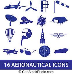 aeronautical, ikona, dát, eps10