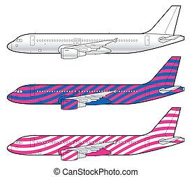 aeronave, boeing, modelo