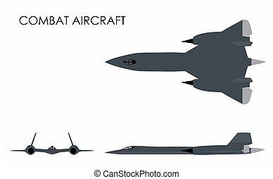aeronave, combate