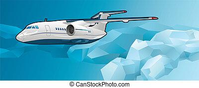 aeronave passageiro