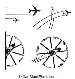 aeronaves, transporte