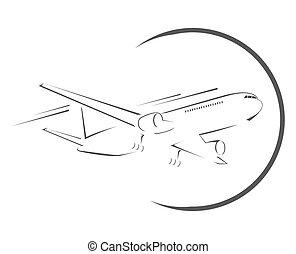 aeroplane Symbol
