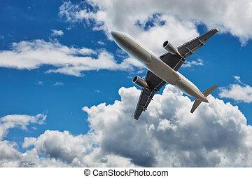 aeroplano commerciale, aereo linea