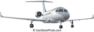 aeroplano commerciale, jet