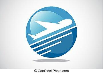 aeroplano, turismo, viaggiare