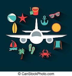 aeroplano, viaggiare