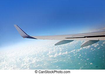 aeroplano, vista