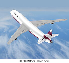 aeroplano, volare, jet