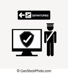 aeroport końcowy, projektować