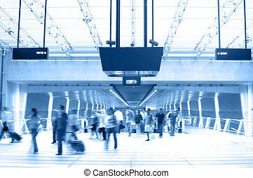aeroporto, 2, scena