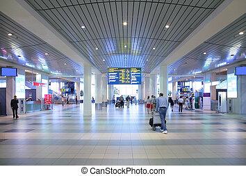 aeroporto, corredor