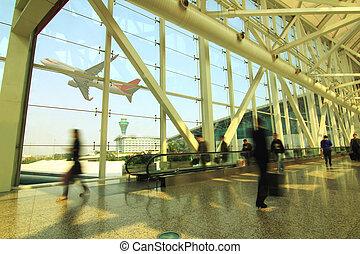 aeroporto, guangzhou