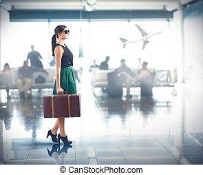 aeroporto, lusso